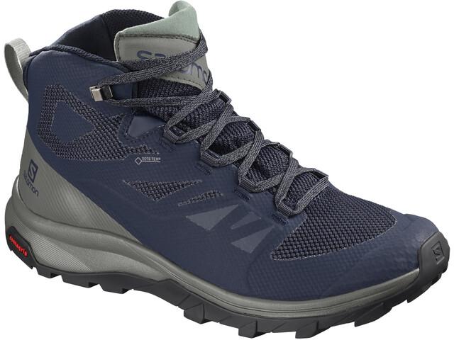 Salomon OUTline Mid GTX Shoes Men blue
